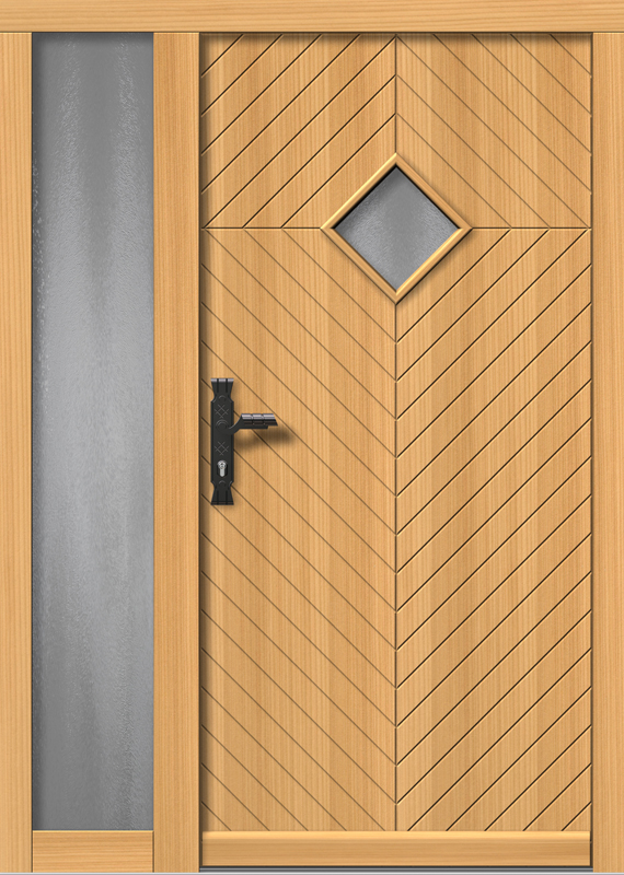 Rustikale Haustüren Holz holz haustüren modellübersicht