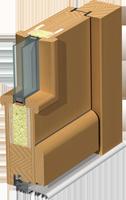 Holz-Türen Schnitt Classic