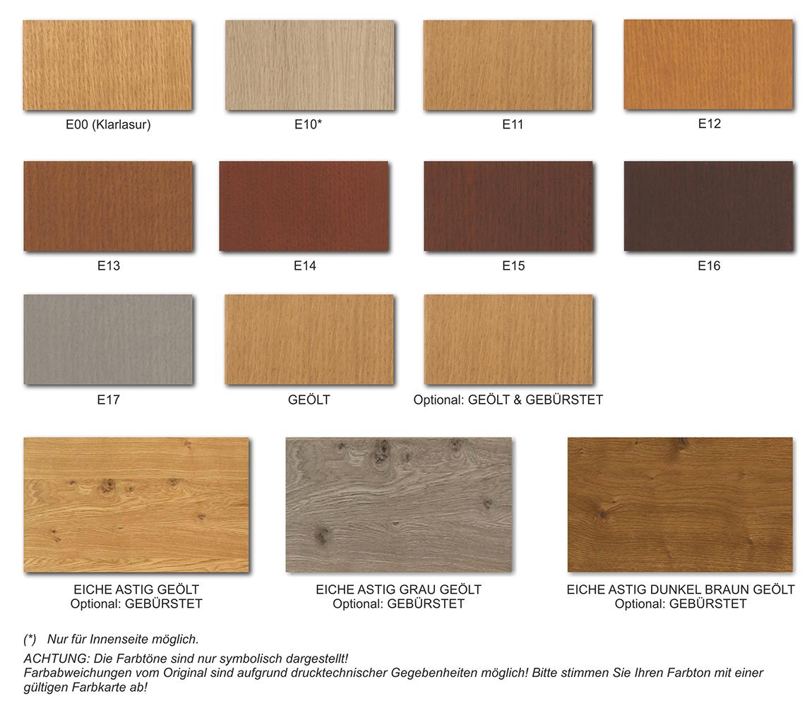 Farben Holz Oberflächen Lasierende Oder Geölte Oberflächen Fichte