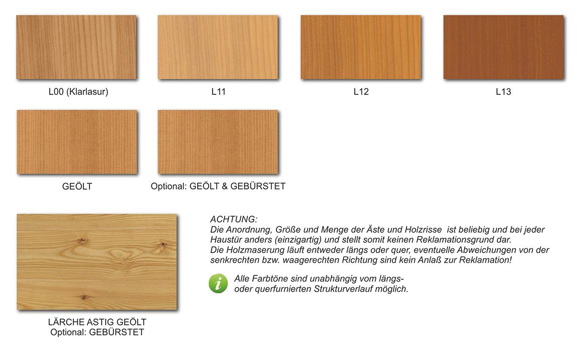 Holzarten Erkennen farben holz oberflächen lasierende oder geölte oberflächen fichte