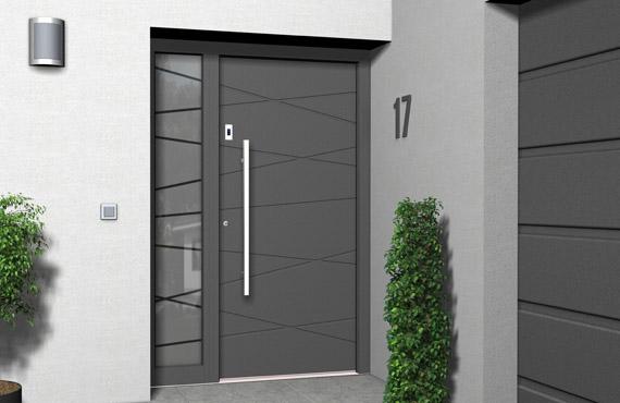 Sehr Haustüren DOORS - Holz Haustüren und Holz-Aluminium Haustüren XN14