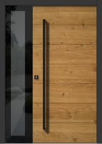 Haustür eiche modern