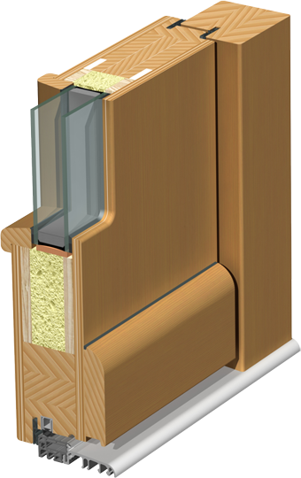 holz haust ren modern technische hinweise. Black Bedroom Furniture Sets. Home Design Ideas