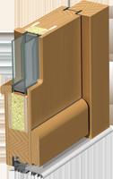 Holz-Türen Schnitt Modern